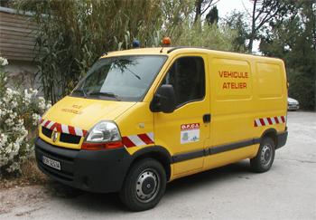 Véhicule d'assistance technique, Défense des forêts contre les incendies, Var (83)