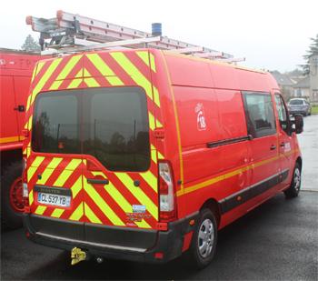 Véhicule pour interventions diverses, Sapeurs-pompiers, Indre (36)