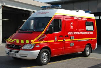 Véhicule de secours et d'assistance aux victimes, Marins-pompiers de Marseille,