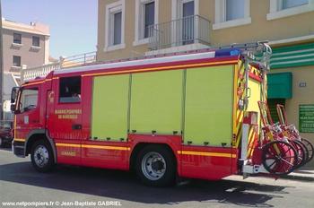 <h2>Fourgon d'intervention - Marseille - Bouches-du-Rhône (13)</h2>