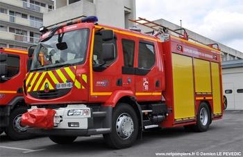 <h2>Fourgon-pompe tonne secours routier - Lorient - Morbihan (56)</h2>