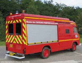 Véhicule d'information du public, Sapeurs-pompiers, Loire (42)