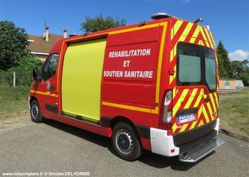 Véhicule de soutien sanitaire, Sapeurs-pompiers, Alpes-Maritimes