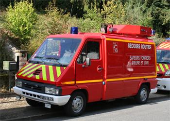 Véhicule de secours routier, Sapeurs-pompiers, Eure-et-Loir (28)