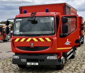 Camion d'accompagnement / Appuis grands feux, Sapeurs-pompiers de Paris, Paris (75)