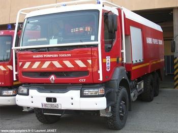 Camion-citerne d'incendie, Marine nationale, Var (83)