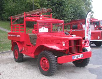 Véhicule de première intervention, Sapeurs-pompiers, Val-d'Oise