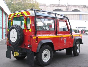 Véhicule de liaison, Sapeurs-pompiers, Essonne (91)