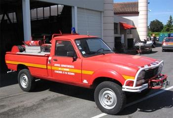Camion-citerne pour feux de forêts léger, Sapeurs-pompiers, Lot-et-Garonne (47)