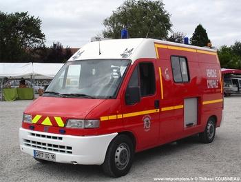 Véhicule pour interventions cynotechniques, Sapeurs-pompiers, Charente