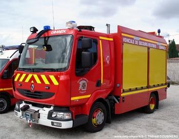Véhicule de secours routier, Sapeurs-pompiers, Charente