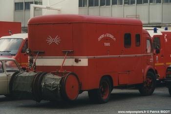 Fourgon électro-ventilateur, Sapeurs-pompiers, Indre-et-Loire (37)