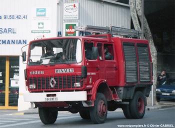 Fourgon-pompe tonne, Marins-pompiers de Marseille, Bouches-du-Rhône