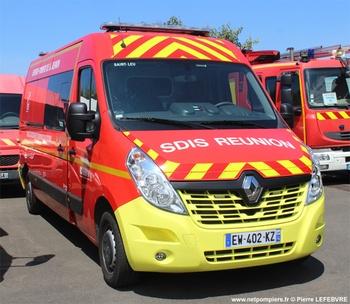 Véhicule de secours et d'assistance aux victimes, Sapeurs-pompiers, La-Réunion (974)