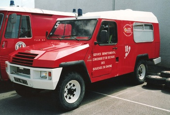 Véhicule de secours aux victimes, Sapeurs-pompiers, Bouches-du-Rhône (13)