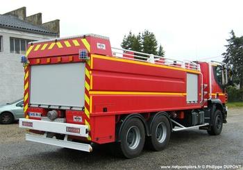 Camion-citerne de grande capacité, Sapeurs-pompiers, Lot-et-Garonne (47)