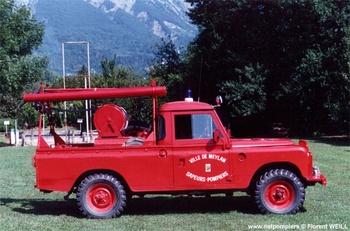 Camion-citerne pour feux de forêts léger, Sapeurs-pompiers, Isère (38)