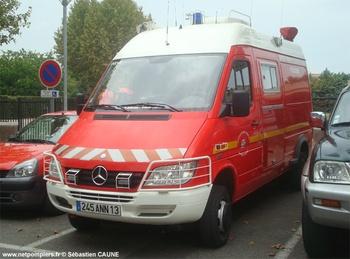 Véhicule poste de commandement, Sapeurs-pompiers, Bouches-du-Rhône (13)