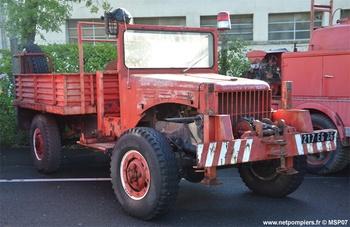 Camion-citerne pour feux de forêts léger, Sapeurs-pompiers, Drôme (26)