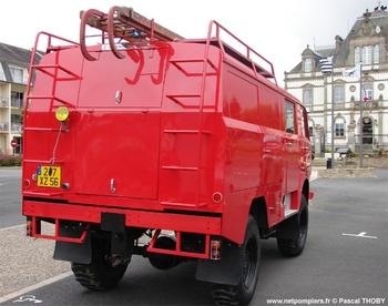 Fourgon d'incendie normalisé, Sapeurs-pompiers, Marne (51)