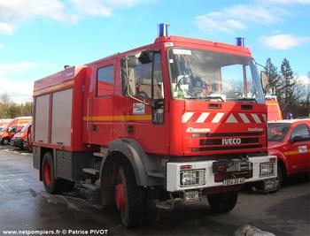 Fourgon-pompe tonne, Sapeurs-pompiers, Loire