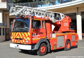 Echelle pivotante, Sapeurs-pompiers, Lot-et-Garonne (47)