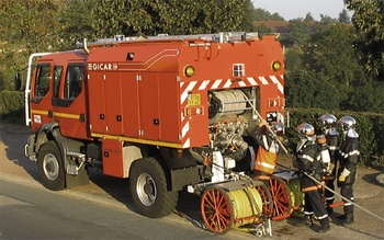 Camion-citerne rural, Sapeurs-pompiers, Loire (42)