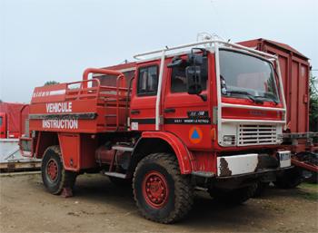 Camion-citerne pour feux de forêts, Formations militaires de la Sécurité civile, Eure-et-Loir (28)