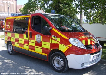 Véhicule de secours médical, Sapeurs-pompiers, Isère (38)
