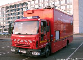 Véhicule poste de commandement, Sapeurs-pompiers, Seine-et-Marne