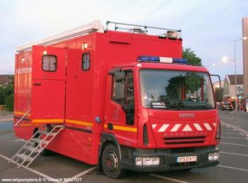 Véhicule poste de commandement, Sapeurs-pompiers, Seine-et-Marne (77)