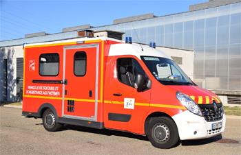 <h2>Véhicule de secours et d'assistance aux victimes - Bourg-en-Bresse - Ain (01)</h2>