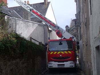 Échelle pivotante automatique 26 mètres Gimaex