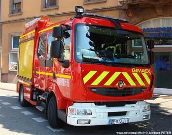 Fourgon-pompe tonne léger, Sapeurs-pompiers, Haut-Rhin (68)