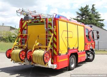 <h2>Fourgon-pompe tonne - Saint-Péray - Ardèche (07)</h2>