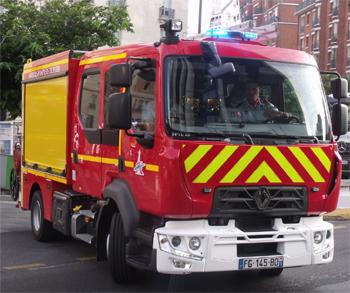 Fourgon-pompe tonne léger, Sapeurs-pompiers de Paris, Paris (75)