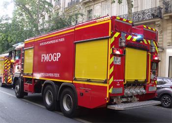 Fourgon-mousse de grande puissance, Sapeurs-pompiers de Paris,  ()