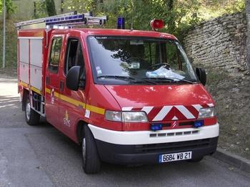 Véhicule de première intervention, Sapeurs-pompiers, Côte-d'Or