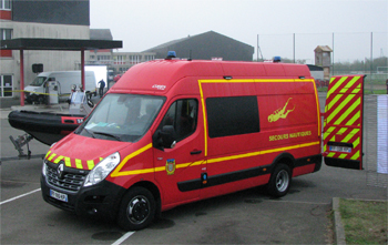 Véhicule de secours nautique, Sapeurs-pompiers, Sarthe (72)