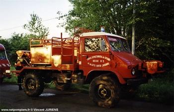 Camion-citerne pour feux de forêts, Sapeurs-pompiers, Nièvre (58)