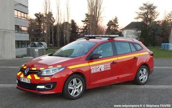 Véhicule de liaison, Sapeurs-pompiers, Haut-Rhin (68)