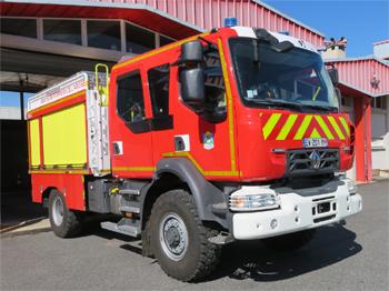 Camion-citerne rural, Sapeurs-pompiers, Ariège (09)