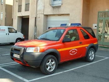 Véhicule de liaison, Sapeurs-pompiers, Vaucluse (84)