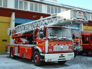 Echelle pivotante, Sapeurs-pompiers, Yvelines (78)