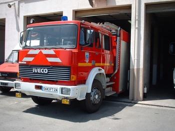 Fourgon-pompe tonne, Sapeurs-pompiers, Corse-du-Sud (2A)