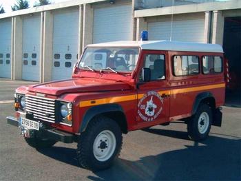 Véhicule de liaison, Sapeurs-pompiers, Ardennes (08)