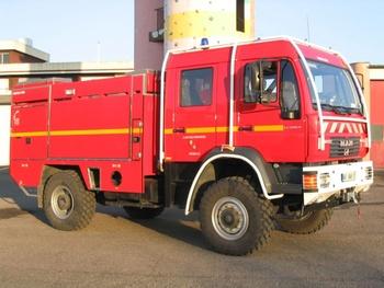 Camion-citerne pour feux de forêts, Sapeurs-pompiers, Moselle (57)