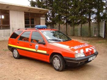 Véhicule radio médicalisé, Sapeurs-pompiers, Essonne