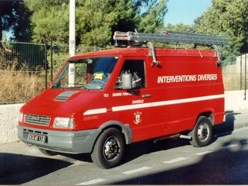 Véhicule pour interventions diverses, Marins-pompiers de Marseille, Bouches-du-Rhône (13)