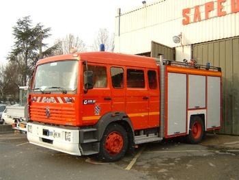 <h2>Fourgon-pompe tonne - Bois-d'Arcy - Yvelines (78)</h2>